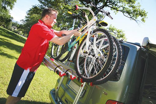 vw t5 bike rack by fiamma