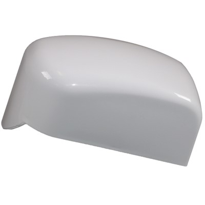 Fiamma F45 Awning Left Hand End Cap (Polar White Colour)