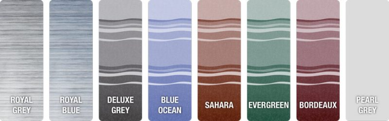 fiamma awning colours